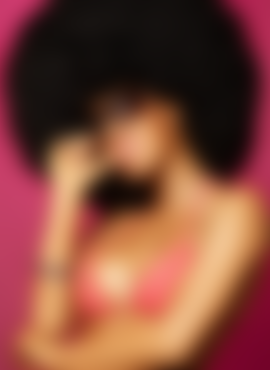 Afro haircut